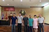La Thaïlande remet des pêcheurs sauvés au Vietnam