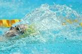 Natation : Minna Atherton établit un nouveau record du monde sur 100m dos petit bassin
