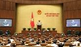 L'Assemblée nationale achève la 6ejournée de travail
