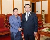 Vietnam - Laos : coopération entre les deux Partis dans le secteur des relations extérieures
