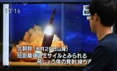 La République démocratique populaire de Corée tire un missile balistique
