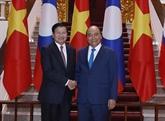 La visite de Thoungloun Sisoulith au Vietnam couverte par la presse laotienne