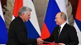 La Russie et Cuba se soutiennent sur la scène internationale, selon Poutine