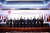 Réviser la mise en œuvre du Plan directeur de la Communauté économique de l'ASEAN