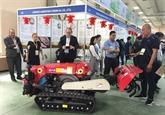 Agriculture, sylviculture, pêche : exposition internationale GROWTECH 2019 à Hanoï