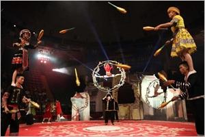 Cirque  de nouveaux talents vietnamiens dévoilés