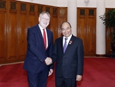 Le PM reçoit le président de la Commission du commerce international du PE