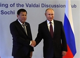 Poutine et Duterte se disent prêts à élargir la coopération entre la Russie et les Philippines