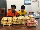 Quang Tri: la plus grande quantité de stupéfiants saisis à la frontière Vietnam – Laos