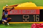 Mondiaux d'athlétisme : l'Américaine Dalilah Muhammad au max