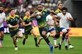 Mondial de rugby : le bonus pour l'Australie, les sourires pour l'Uruguay