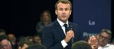 Visite impromptue d'Emmanuel Macron au Sommet de l'élevage à Cournon