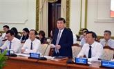 Les diplomates vietnamiens souhaitent contribuer à l'essor de Hô Chi Minh-Ville