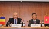 Réunion du Comité mixte Vietnam - Roumanie sur la coopération économique