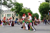 Le Festival de la culture folklorique en novembre à Hanoï