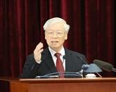 Première journée de travail du 11e plénum du Comité central du Parti