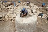 Les vestiges d'une ville de 5.000 ans exhumés en Israël