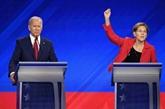 USA : Warren rattrape Biden dans la course à la primaire démocrate
