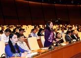 L'AN discute du développement des zones peuplées de minorités ethniques