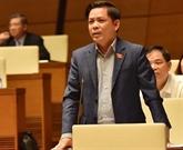 Le ministre des Transports et des Communications réclame davantage de fonds pour les transports de pointe