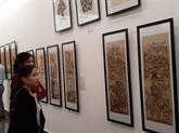 Des estampes populaires de Dông Hô exposées à Hanoï