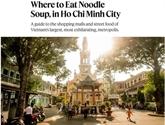 New York Times présente des traits typiques de Hô Chi Minh-Ville