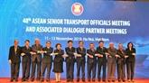 Ouverture de la 48e réunion des hauts officiels des Transports de l'ASEAN