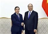 Le Premier ministre reçoit le nouvel ambassadeur du Laos