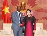 La présidente de l'AN reçoit le directeur national de la Banque mondiale
