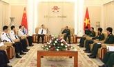 Des responsables chinois de l'immigration reçus à Hanoï