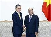 Le PM reçoit le président de l'Institut de la communauté d'Asie de l'Est