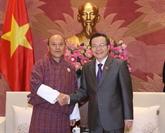 Audit: Le Vietnam et le Bhoutan veulent renforcer leur coopération