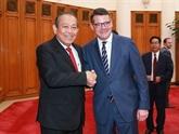 La Hesse joue un rôle crucial dans la promotion des liens Vietnam - Allemagne