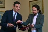 Accord entre socialistes et Podemos pour former un gouvernement