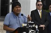 Evo Morales atterrit au Mexique et promet de
