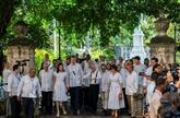 À Cuba, le roi d'Espagne face à l'arbre fondateur de La Havane, 500 ans après