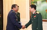 Un commandant de l'Armée de l'air cambodgienne au Vietnam