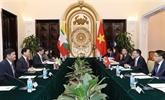 Vietnam - Myanmar : consultation politique au niveau des vice-ministres