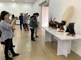 Ouverture dune exposition sur les arts martiaux japonais
