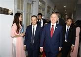 Le président de la chambre basse du Kazakhstan termine sa visite au Vietnam
