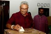Présidentielle au Sri Lanka : Rajapaksa en tête des premiers décomptes
