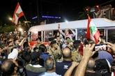 Liban : sous la pression de la rue, un ex-ministre renonce à devenir Premier ministre