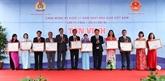 Hanoï : 183 enseignants de l'année 2019 à l'honneur