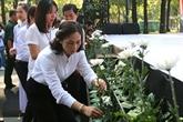 Hommage aux victimes des accidents de la route à Hô Chi Minh-Ville