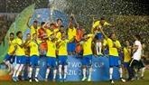 Mondial U17 : le Brésil sacré chez lui