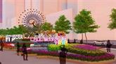 La souris, thème principal de la rue florale Nguyên Huê 2020