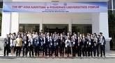 Ouverture du 18e Forum des universités maritimes et de la pêche dAsie