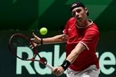 Coupe Davis : le Canada, premier qualifié pour les quarts