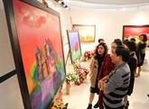 Exposition de peintures marquant le Sommet spécial R. de Corée – ASEAN 2019