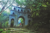 L'ancienne pagode de la montagne de Bái Dinh